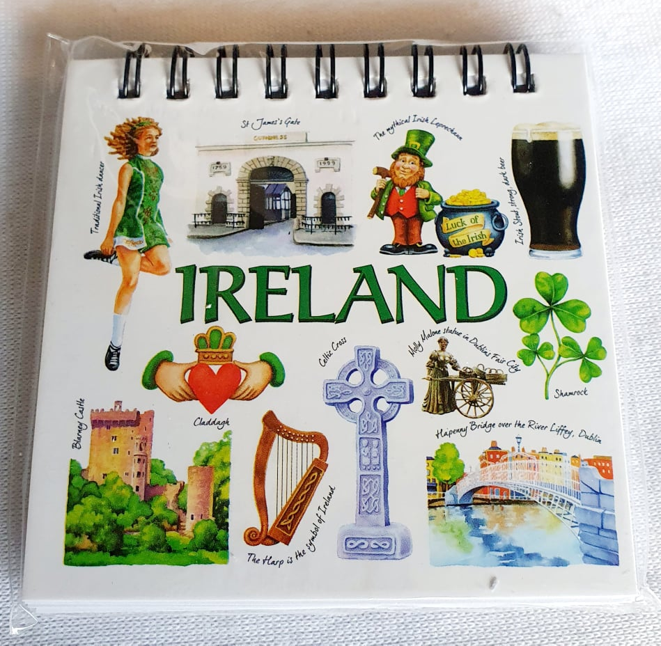 Ireland notepad