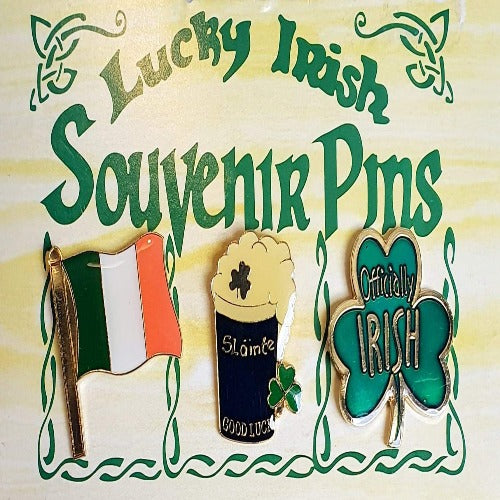 Lucky Irish Souvenir Pins