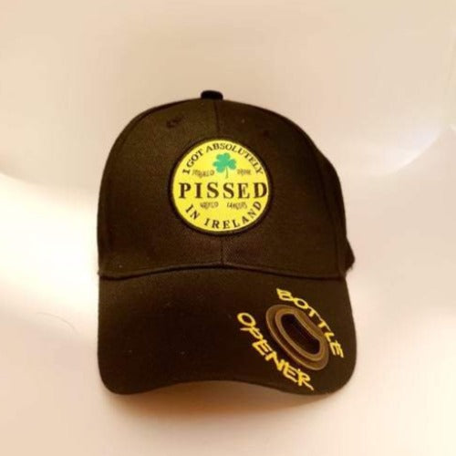 Irish Pissed Cap with bottle Opener