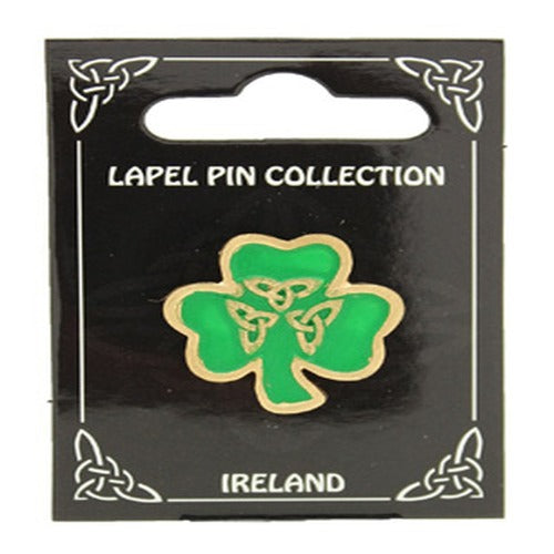 Lapel Pin Collection Shamrock