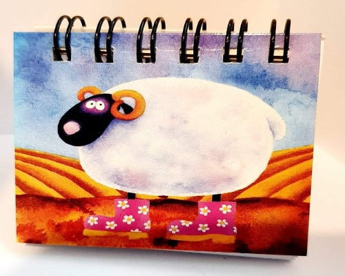 Assorted Sheep Magnetic Notebooks