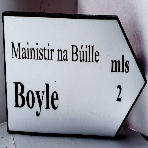 Small Boyle Road Sign
