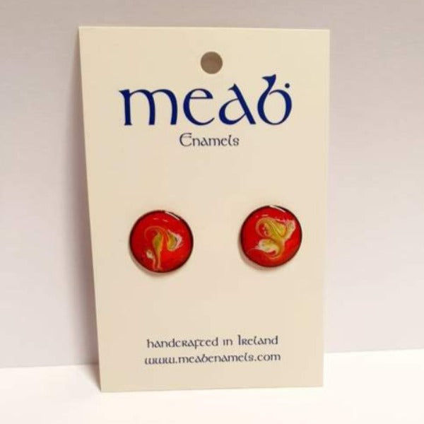 Meab Enamel Stud Earrings