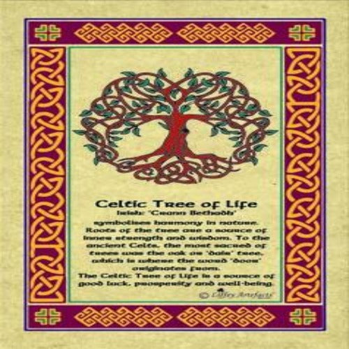 Celtic Tree of Life Tea Towel