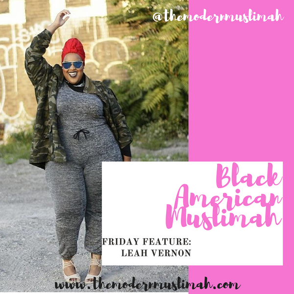 Black American Muslimah Friday Feature: Leah Vernon