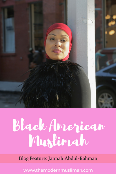 Black American Muslimah Friday Feature: Jannah Abdul-Rahman