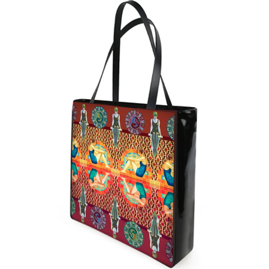 Lizzie Montgomery 'Bathers' Beach Bag/ Shopping Bag