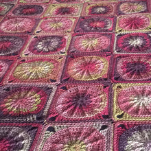 'Berry Gateau' Wool Blanket by Lizzie Montgomery
