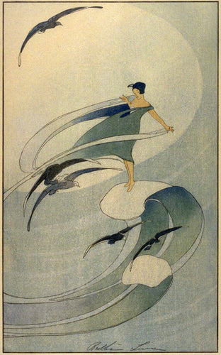 Art Print:  Bertha Lum, 'Wind Sprite', 1920