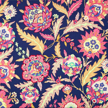 Amethyst Ottoman Design Cotton Fabric, 3 metres