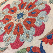 Suzani Embroidered Cushion Cover 'Samarkand'