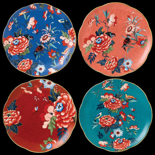 Wedgwood Chinoiserie Plates x 4