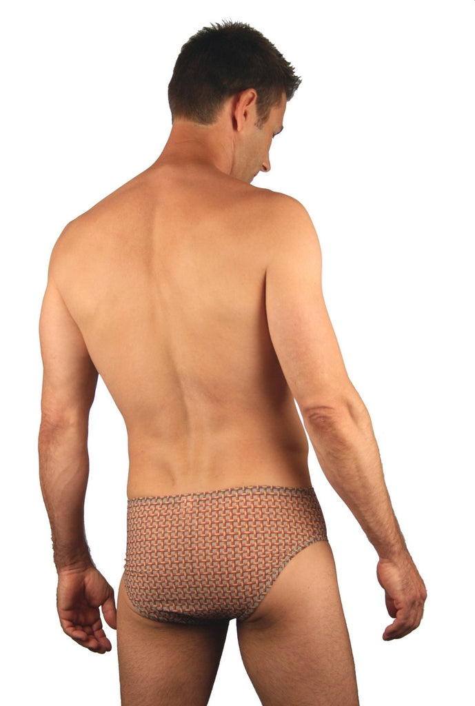51e3c2898f9 3 inch Mens Tan Through Swimsuit BE5233 | Lifestyles Direct