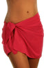Fuchsia Tan Through Sarong BW0499