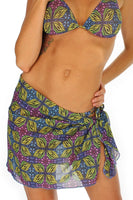 Green Heat sarong from Lifestyles Direct Tan Through Swimwear.
