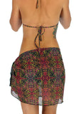 Pink Safari sarong from Lifestyles Direct Tan Through Swimwear.