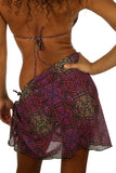 Tan through sarong from Lifestyles Direct in purple Safari.