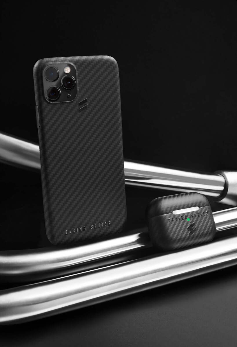 Carbon fiber case for airpods- Racing Series