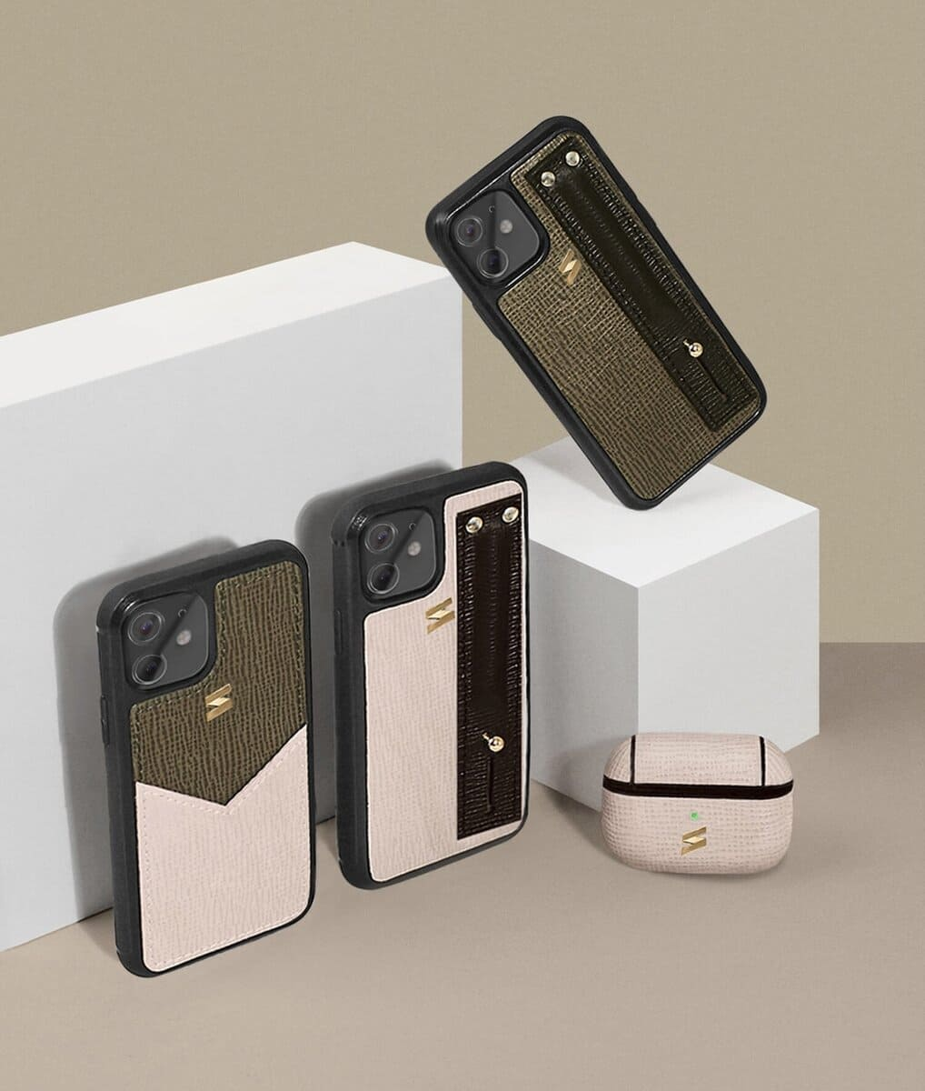 The Corteccia Iphone cases collection by Suritt