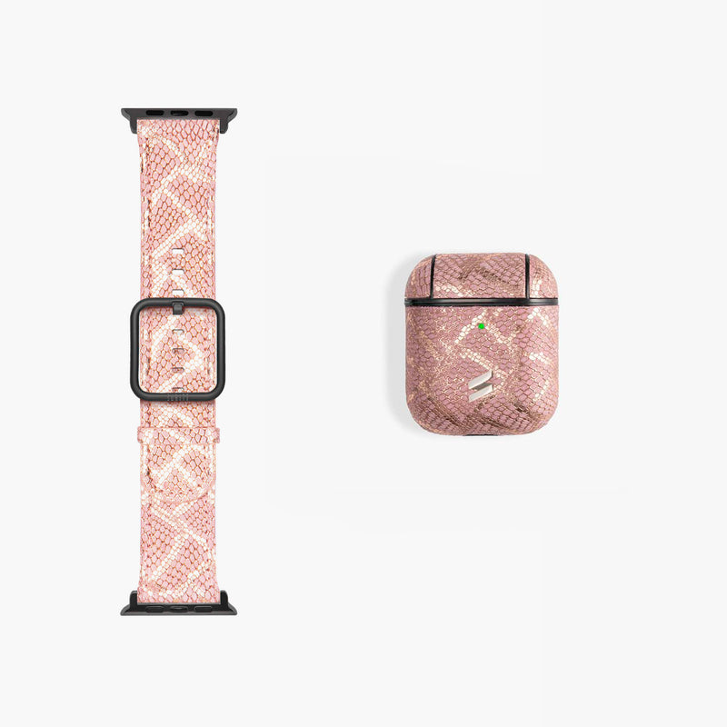 GIFT PACK BAND + AIRPODS CASE PARIS PINK