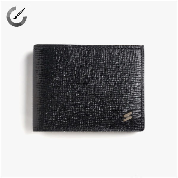 Wallet Corteccia Black&Yellow