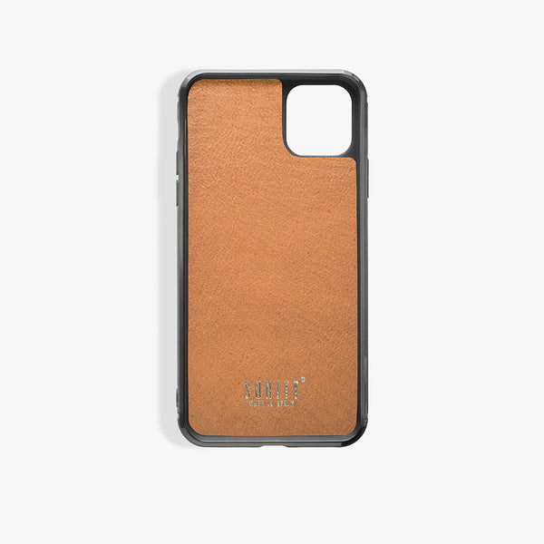 iPhone 11 Pro Max Case Corteccia Card Brown
