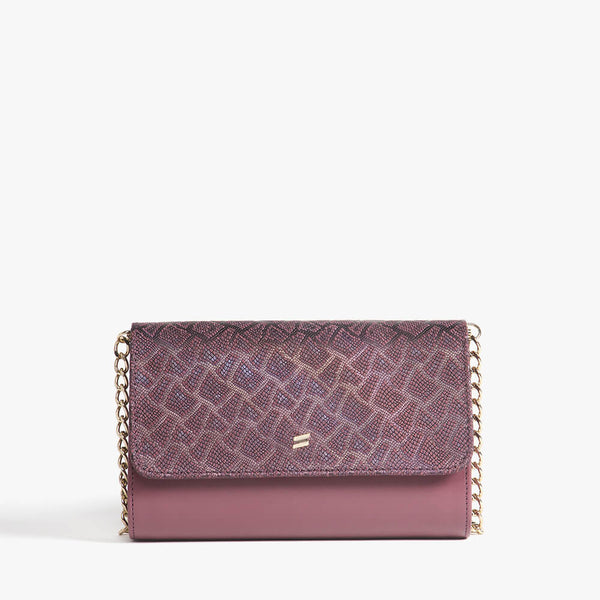 Bandolera Paris Burgundy