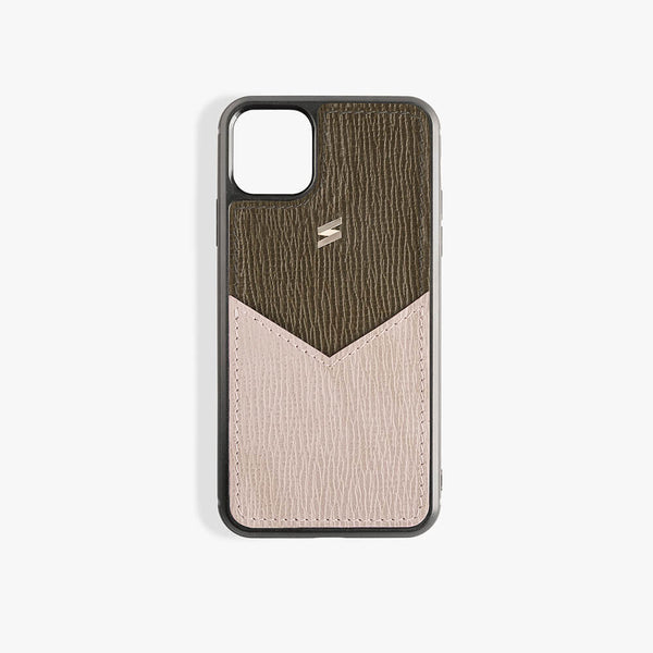 iPhone 11 Pro Max Case Corteccia Card Green