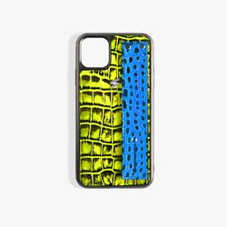Funda iPhone 11 Pro Max Benny Strap Yellow