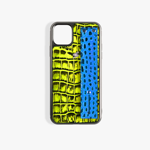 Coque iPhone 11 Pro Max Benny Strap Yellow
