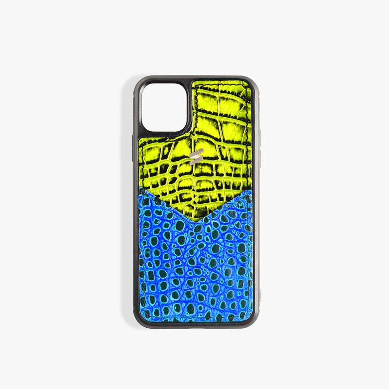 iPhone 11 Pro Case Benny Card Yellow