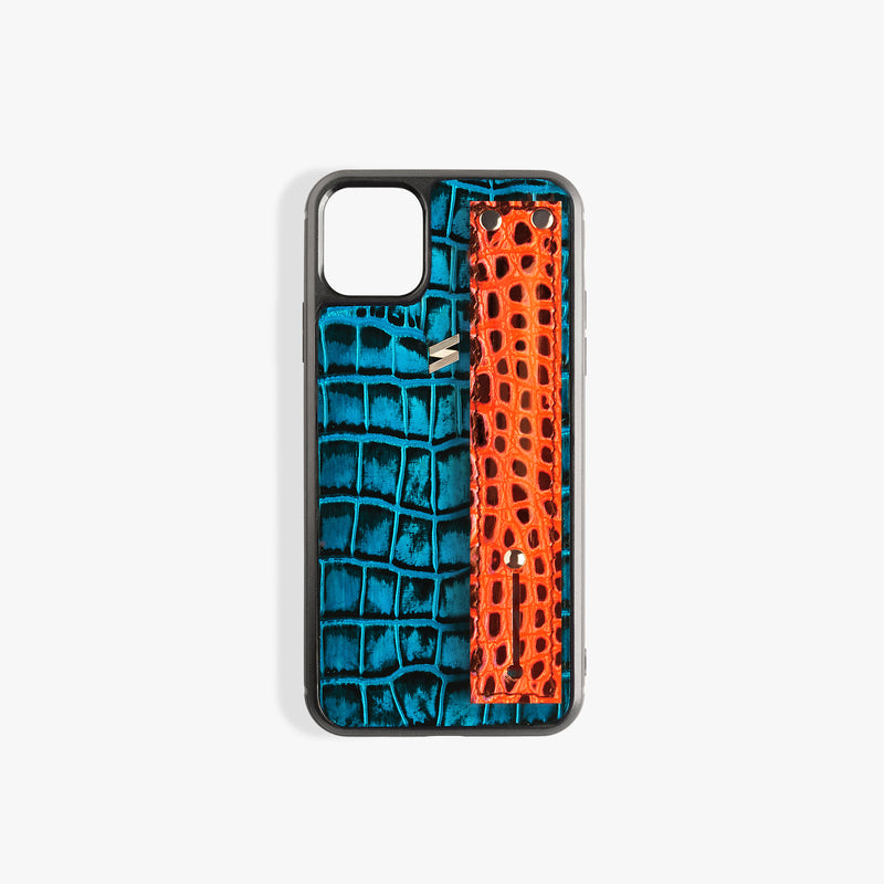 iPhone 11 Pro Case Benny Strap Blue