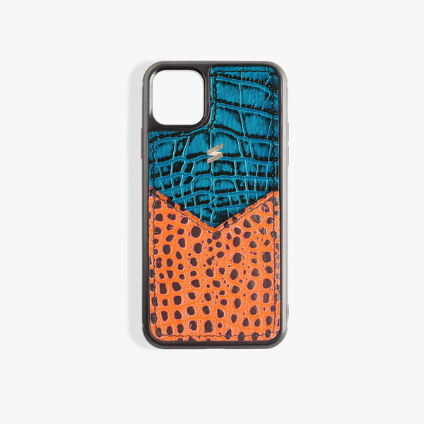 iPhone 11 Pro Max Case Benny Card Blue