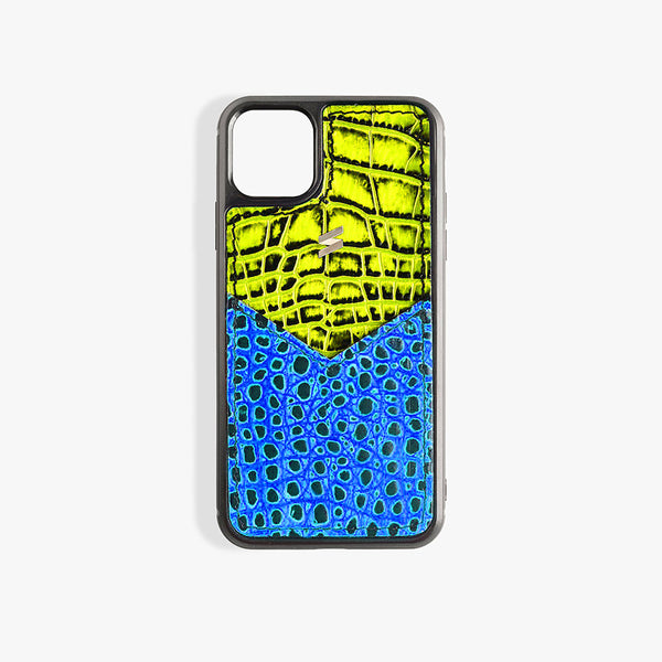Coque iPhone 11 Pro Max Benny Card Yellow