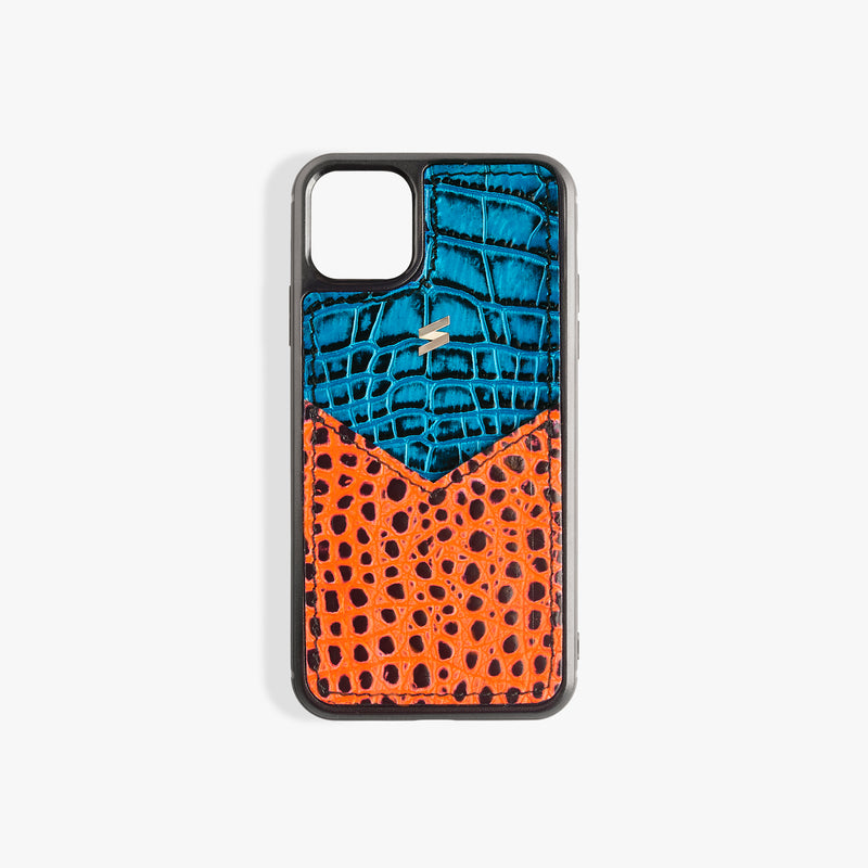 iPhone 11 Case Benny Card Blue