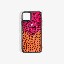 iPhone 11 Case Benny Card Fuscia