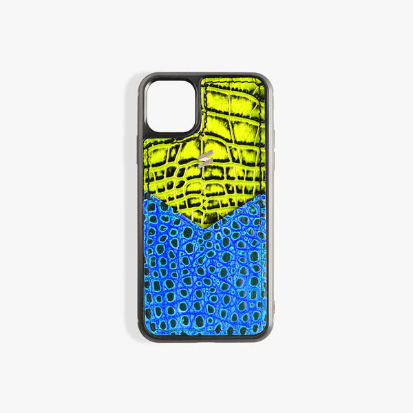 Coque iPhone 11 Benny Card Yellow