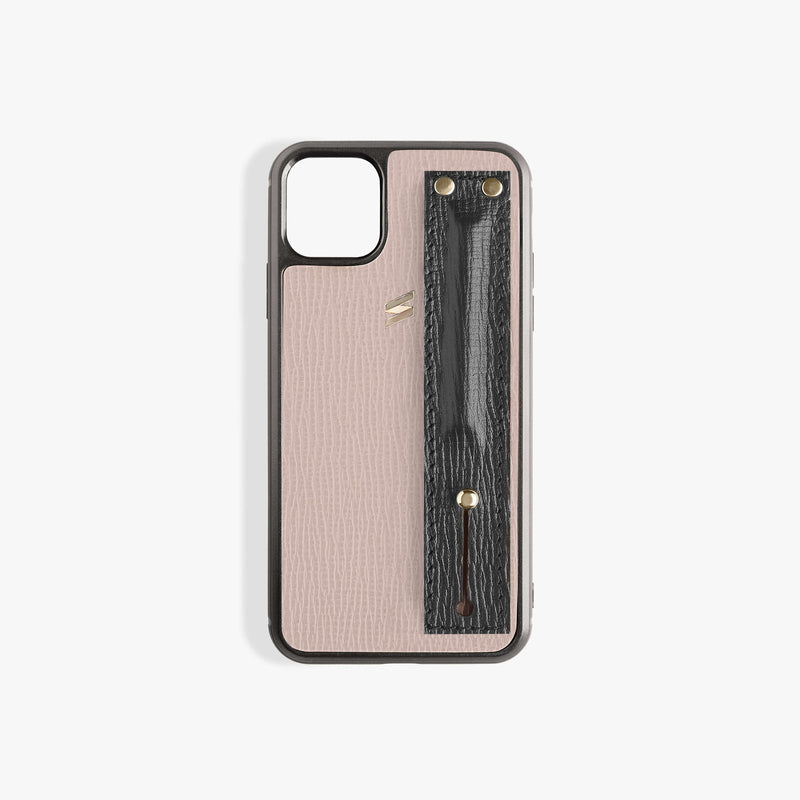Iphone 11 Hülle Corteccia Strap Pink