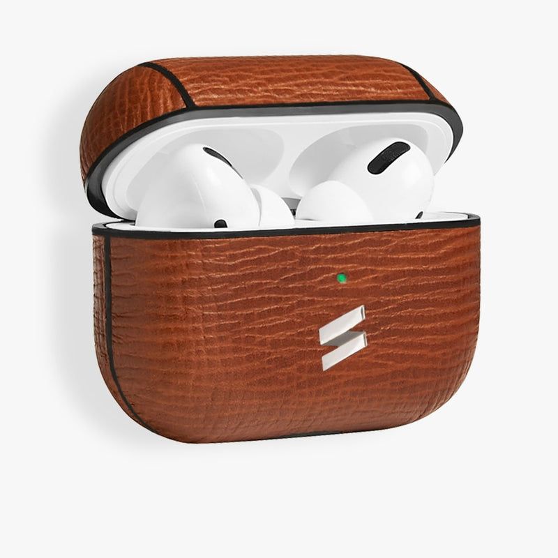 AirPods Pro Case Corteccia Brown