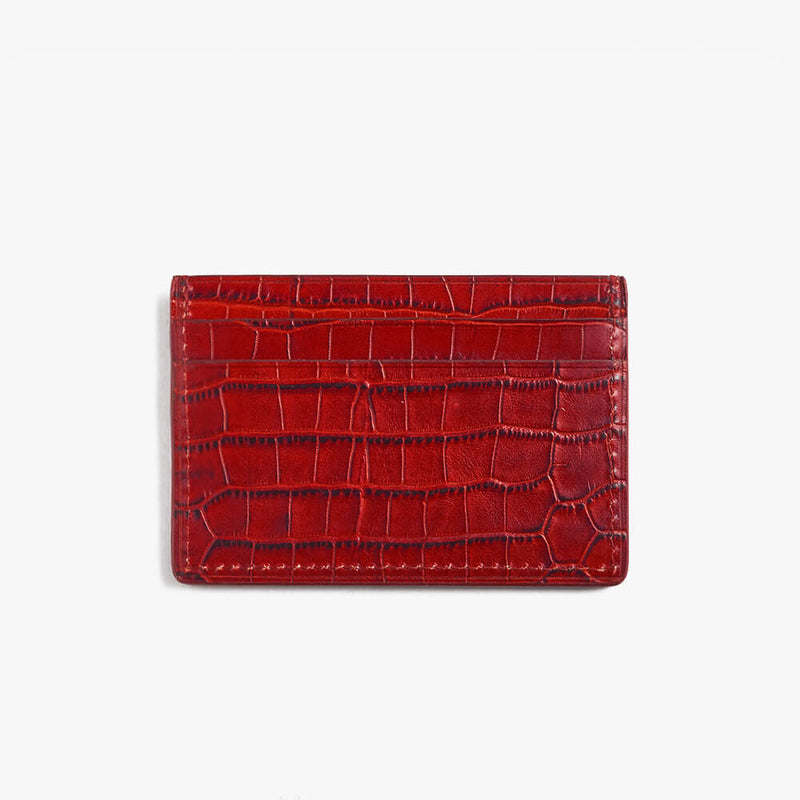 Card Holder Sidney Red