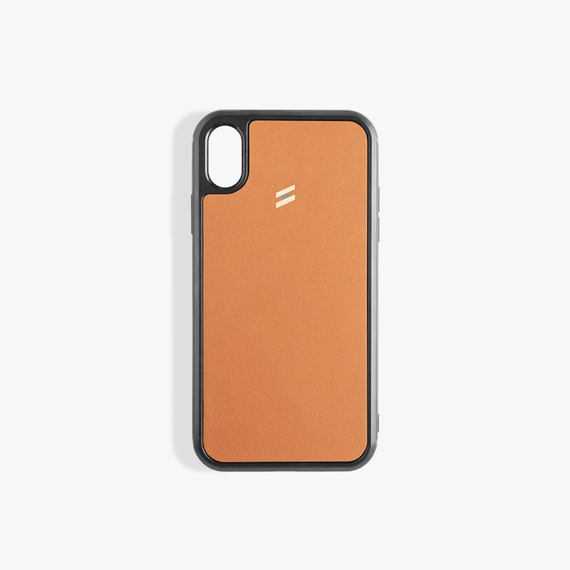 iPhone X Case Rio Saddle Brown