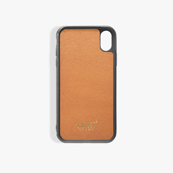iPhone Xs Max hoesje Saddle Brown