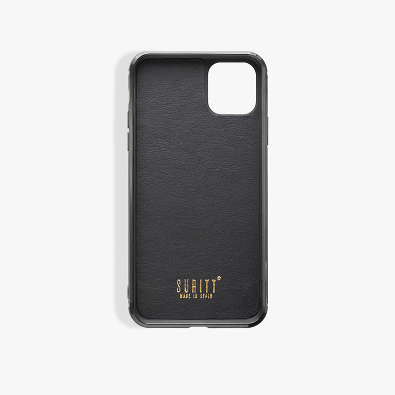 iPhone 11 Pro Max case Leo Black