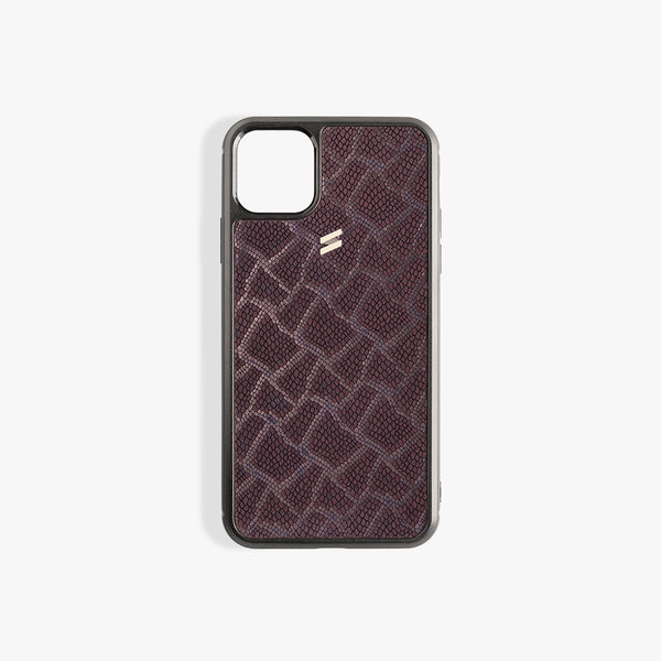iPhone 11 hoesje Paris Burgundy