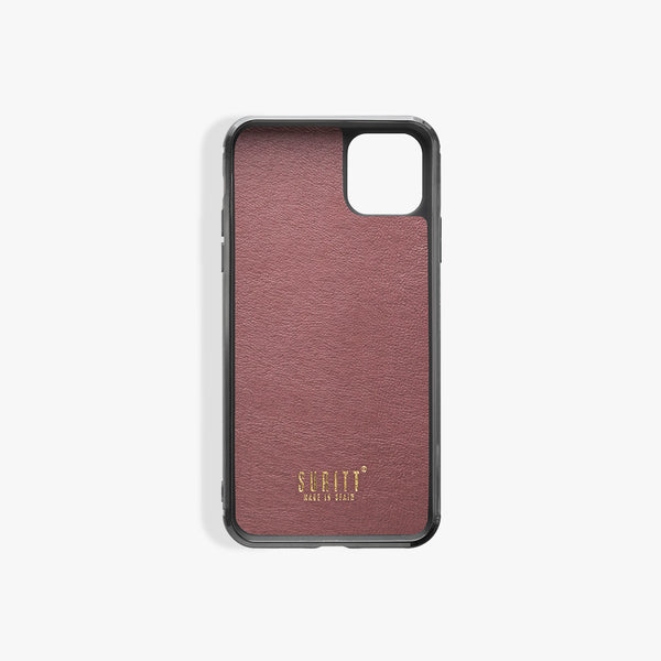 Coque iPhone 11 Paris Pro Burgundy