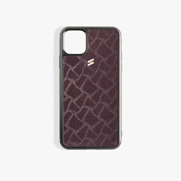 iPhone 11 Pro Max hoesje Paris Burgundy