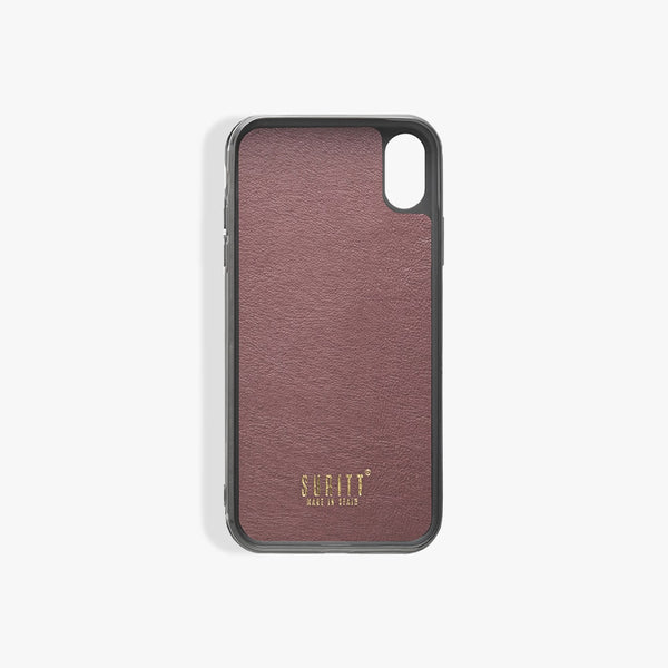 Funda iPhone Xr Paris Burgundy