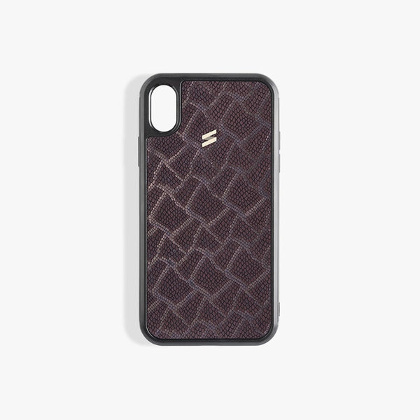 Coque iPhone Xs Max Paris Burgundy