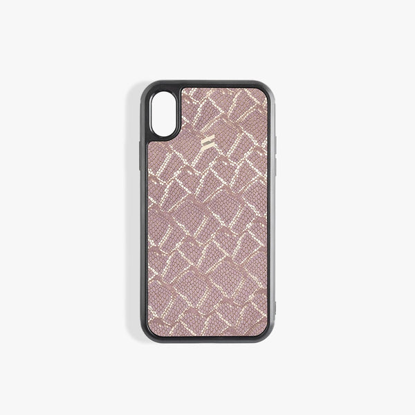 Coque iPhone X Paris Pink