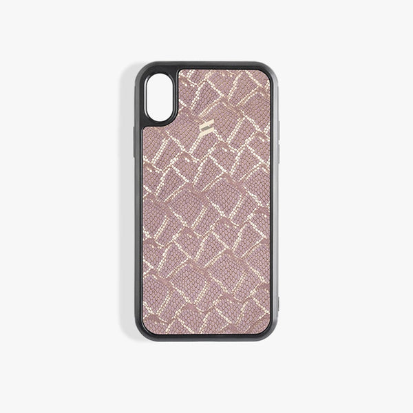 Coque iPhone Xs Max Paris Pink